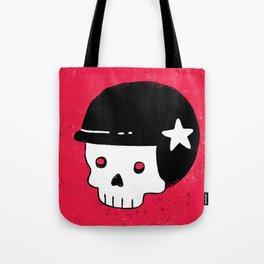 skull dude Tote Bag
