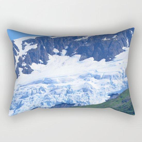 Whittier Glacier Rectangular Pillow
