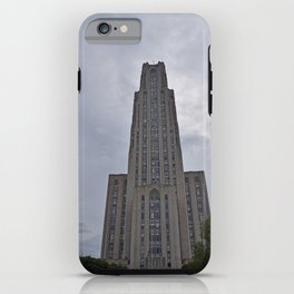 Pittsburgh Tour Series - Cathedral of Learning at PITT iPhone Case