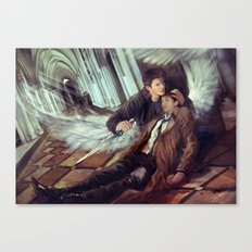 Supernatural Protecting something so Holy Canvas Print