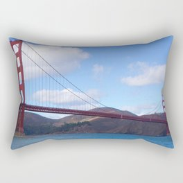 Golden Gate Bridge San Francisco Ca Rectangular Pillow