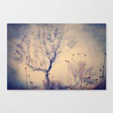 Dreaming tree. Vintage Canvas Print