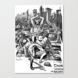 Thor's Club Canvas Print