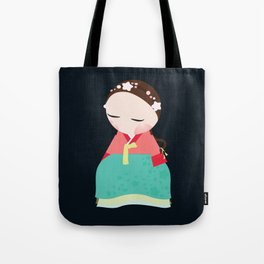 Little korean doll Tote Bag