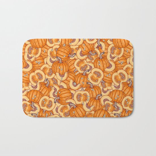 pumpkin dream Bath Mat