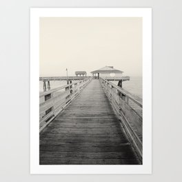 Discovery Pier Art Print