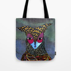 Owl-Girl Tote Bag