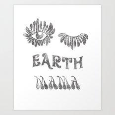 Earth mama Art Print