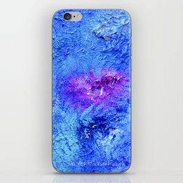 """Ocean Floor"" Painting iPhone Skin"
