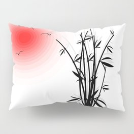 Bambus im Morgenrot Pillow Sham
