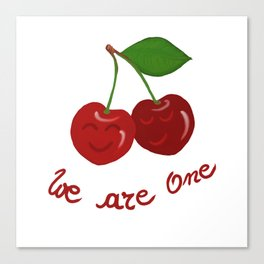 Oh cherry-cherry *in love* Canvas Print