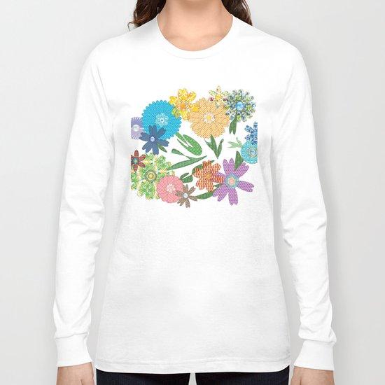 Flower Gardens Long Sleeve T-shirt