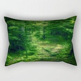Emerald Forest Rectangular Pillow