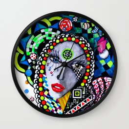 SERPENTINA COLORIDA Wall Clock