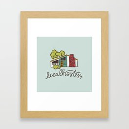 Localhostess Framed Art Print