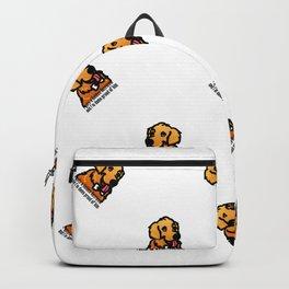 Proud Parent of Golden Retriever Boy - Pattern Version Backpack