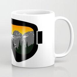 Sunset Goggles 2   Goggle Designs   DopeyArt Coffee Mug