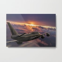 The Aircraft Metal Print