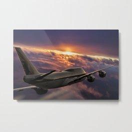 The Aircraft Metal Print