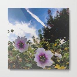 flowers are purple Metal Print