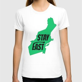 Stay East  T-shirt