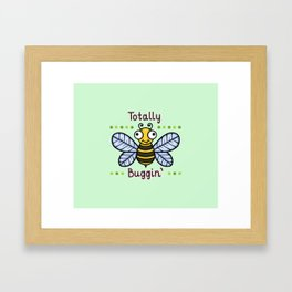 Totally Buggin' Framed Art Print