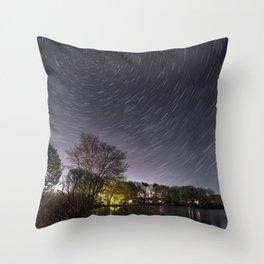 Star Trailing Throw Pillow