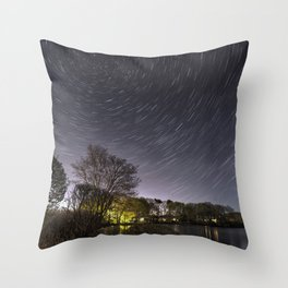 Star Trailing Throw Pillow