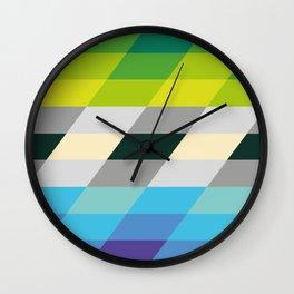 rhomboid integration Wall Clock