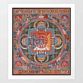 Mandala of Jnanadakini Art Print