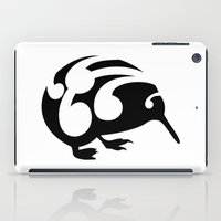 kiwi iPad Cases featuring Kiwi by mailboxdisco