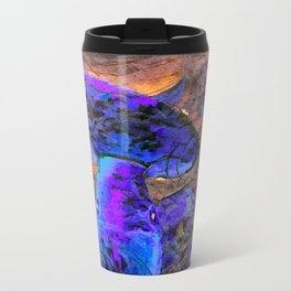 Little Koi Blue Travel Mug