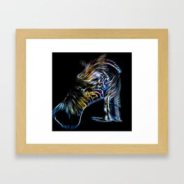 badzebra Framed Art Print