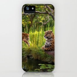 A Secret Pond iPhone Case