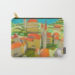 virtual model (ORIGINAL SOLD). Carry-All Pouch