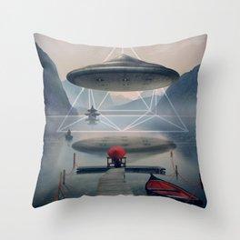 the calm Throw Pillow