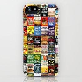 Michener Books iPhone Case