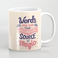 risa rodil Mugs featuring Source of Magic by Risa Rodil