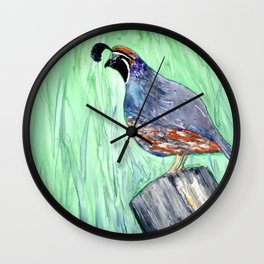 Quirky Fellow Wall Clock