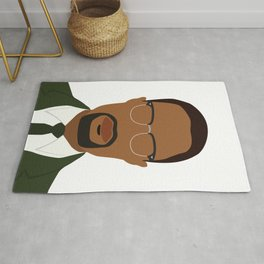 Malcolm X Rug