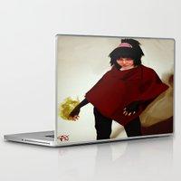 lydia martin Laptop & iPad Skins featuring Lydia Deetz by Mastodon