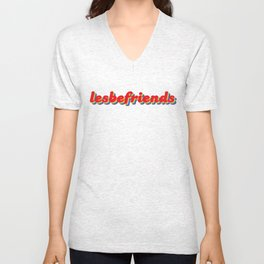 lesbefriends Unisex V-Neck
