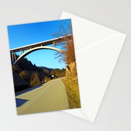 Mighty valley bridge | architecture photography Stationery Cards