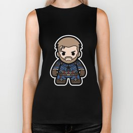 Captain Soldier Biker Tank