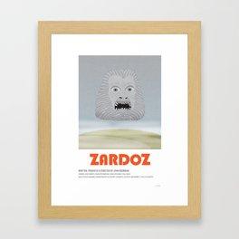 Zardoz (1974) Framed Art Print