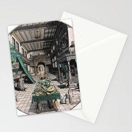 Alchemist's laboratory Stationery Cards