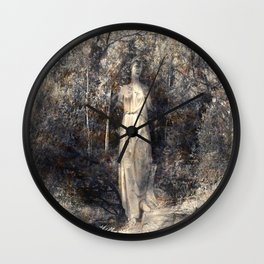 In the arms of Nature Wall Clock