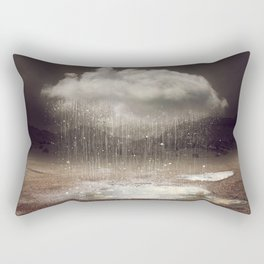 It's Okay. Even the Sky Cries Sometimes. Rectangular Pillow