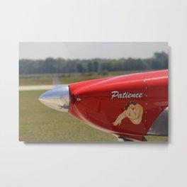 Flying History - 9 Metal Print