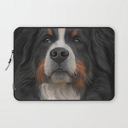 Bernese Mountain Dog Laptop Sleeve